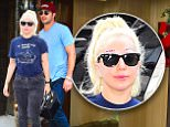 Lady Gaga and her Fiance Taylor Kinney were spotted enjoying Sunday Brunch at her parents Restaurant, Joanne's . They both dressed casually for the outing. Gaga had a big smile on and a completely ordinary outfit, except for her Bejewelled Eyebrows. She received flowers from a fan outside her apartment as she took selfies with them.\n\nPictured: Lady Gaga, Taylor Kinney\nRef: SPL1085351  260715  \nPicture by: 247PAPS.TV / Splash News\n\nSplash News and Pictures\nLos Angeles: 310-821-2666\nNew York: 212-619-2666\nLondon: 870-934-2666\nphotodesk@splashnews.com\n