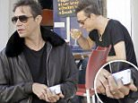 22.JULY.2015 - LONDON - UK\n**EXCLUSIVE ALL ROUND PICTURES**\nTHE KILLS ROCKER JAMIE HINCE LOOKS IN GOOD SPIRITS AS HE'S PICTURED ENJOYING A DRINK WITH A FRIEND AL FRESCO DESPITE RECENT REPORTS THAT HE AND MODEL WIFE KATE MOSS ARE LEADING SEPERATE LIVES. \nBYLINE MUST READ : XPOSUREPHOTOS.COM\n***UK CLIENTS - PICTURES CONTAINING CHILDREN PLEASE PIXELATE FACE PRIOR TO PUBLICATION ***\nUK CLIENTS MUST CALL PRIOR TO TV OR ONLINE USAGE PLEASE TELEPHONE 0208 344 2007**