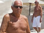Designer Giorgio Armani is seen relaxing on the beach in Formentera, Ibiza\n\nRef: SPL1079066  260715  \nPicture by: Andrea Di Tondo / Splash News\n\nSplash News and Pictures\nLos Angeles: 310-821-2666\nNew York: 212-619-2666\nLondon: 870-934-2666\nphotodesk@splashnews.com\n