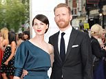 Mandatory Credit: Photo by Jonathan Hordle/REX Shutterstock (4763811bz)..Jessica Raine and Tom Goodman-Hill..House of Fraser British Academy Television Awards, Arrivals, Theatre Royal, London, Britain - 10 May 2015..