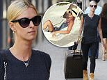 Nicky Hilton spotted wearing combat boots while rolling Louis Vuitton luggage in the East Village neighborhood of NYC\n\nPictured: Nicky Hilton\nRef: SPL1086678  240715  \nPicture by: J. Webber / Splash News\n\nSplash News and Pictures\nLos Angeles: 310-821-2666\nNew York: 212-619-2666\nLondon: 870-934-2666\nphotodesk@splashnews.com\n