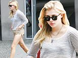 140565, EXCLUSIVE: Chloe Moretz enjoys a day off by checking out a matinee showing of 'Inside Out' in Vancouver. Vancouver, Canada - Saturday July 25, 2015. Photograph: © Kred, PacificCoastNews. Los Angeles Office: +1 310.822.0419 sales@pacificcoastnews.com FEE MUST BE AGREED PRIOR TO USAGE