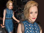 EXCLUSIVE: Rachel McAdams leaves hotel in a stunning blue dress with cut outs to start her night in NYC.\n\nPictured: Rachel McAdams\nRef: SPL1086173  230715   EXCLUSIVE\nPicture by: PAPCULTURENYC IGGI / Splash News\n\nSplash News and Pictures\nLos Angeles: 310-821-2666\nNew York: 212-619-2666\nLondon: 870-934-2666\nphotodesk@splashnews.com\n