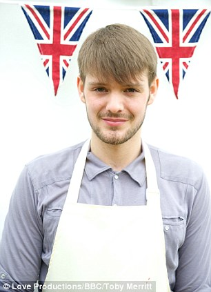 John Whaite, the winner of last year's Bake Off