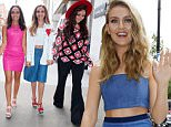 Mandatory Credit: Photo by Beretta/Sims/REX Shutterstock (4915653h)  Little Mix - Perrie Edwards, Leigh-Anne Pinnock, Jade Thirlwall, Jesy Nelson at BBC Radio 1 Studios  Little Mix out and about, London, Britain - 28 Jul 2015