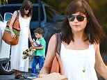 27.JULY.2015 - STUDIO CITY - USA *STRICTLY AVAILABLE FOR UK AND GERMANY USE ONLY* AMERICAN ACTRESS SELMA BLAIR AND SON ARTHUR SAINT BLEICK HEAD BACK TO THE CAR AFTER HAVING DINNER AT THE SIX RESTAURANT IN STUDIO CITY. SELMA WORE SANDALS, A WHITE DRESS, SUNGLASSES AND CARRIED A LARGE HANDBAG BYLINE MUST READ : XPOSUREPHOTOS.COM ***UK CLIENTS - PICTURES CONTAINING CHILDREN PLEASE PIXELATE FACE PRIOR TO PUBLICATION *** *UK CLIENTS MUST CALL PRIOR TO TV OR ONLINE USAGE PLEASE TELEPHONE 0208 344 2007*