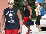 Picture Shows: Hulk Hogan, Jennifer McDaniel  July 25, 2015\n \n Wrestling legend Hulk Hogan and his wife Jennifer McDaniel stop by a gym for a workout in Miami, Florida. \n \n The WWE has terminated Hulk's contract and removed all mention him after it was revealed that Hulk made some racist comments on a video 8 years ago.\n \n Exclusive - All Round\n UK RIGHTS ONLY\n \n Pictures by : FameFlynet UK © 2015\n Tel : +44 (0)20 3551 5049\n Email : info@fameflynet.uk.com