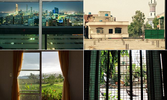 The views holiday brochures will never show you: Fascinating photo series documents scenes