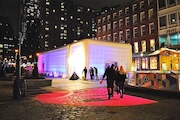 Free Concerts, Movies Popping Up Inside a Heated 'Sugarcube' at the Seaport