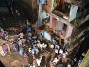 Thane bulding collapse, Mumbai, Building collapse