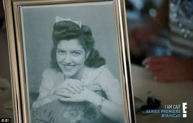 History repeating itself: Kylie was given a portrait of her grandmother Esther taken when she also was 17, and when Caitlyn pointed out she was married at that age, her daughter replied: 'Kind of like me'
