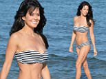 EXCLUSIVE FAO DAILY MAIL ONLINE GBP 40 PER PICTURE\n Mandatory Credit: Photo by Startraks Photo/REX Shutterstock (4916022g)\n Brooke Burke Charvet with daughter Rain\n Brooke Burke-Charvet out and about in Malibu, California, America - 28 Jul 2015\n \n