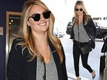 LOS ANGELES, CA - JULY 27: Kate Upton is seen at LAX on July 27, 2015 in Los Angeles, California.  (Photo by GVK/Bauer-Griffin/GC Images)