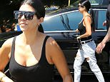 Kourtney Kardashian leaving the studio after filming Keeping up with the Kardashians.\n\nPictured: Kourtney Kardashian\nRef: SPL1089234  280715  \nPicture by: Clint Brewer / Splash News\n\nSplash News and Pictures\nLos Angeles: 310-821-2666\nNew York: 212-619-2666\nLondon: 870-934-2666\nphotodesk@splashnews.com\n
