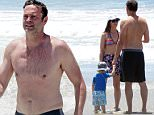 140581, EXCLUSIVE: A shirtless Vince Vaughn and his family take advantage of the hot weather and hit the beach in Los Angeles. Los Angeles, California - Sunday, July 26, 2015.  Photograph: Kevin Perkins,Pacificcoastnews.com***FEE MUST BE AGREED PRIOR TO USAGE*** UK OFFICE: +44 131 557 7760/7761/7762 US OFFICE + 1 310 261 96763365.255.212.82 Photograph: KVS, © PacificCoastNews. Los Angeles Office: +1 310.822.0419 sales@pacificcoastnews.com FEE MUST BE AGREED PRIOR TO USAGE
