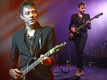 Jamie Hince of The Kills performs at the El Rey Theatre on Monday, July 27, 2015, in Los Angeles. (Photo by Rich Fury/Invision/AP)