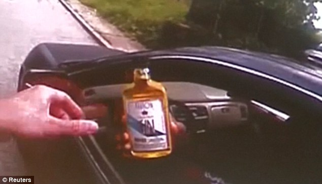 When asked for a driving licence, DuBose handed over a bottle of alcohol instead. It was after this that Tensing asked the victim to step out of the car