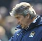 Mar 21th 2015 - Manchester, UK - MANCHESTER CITY V WBA - City manager Manuel Pellegrini  PIcture by Ian Hodgson/Daily Mail