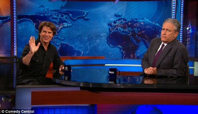 Yes, it's real: Tom Cruise announced there will be a Mission: Impossible 6 during his appearance on The Daily Show on Tuesday evening