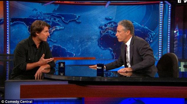 He said it:The 53-year-old remarked to host Jon Stewart, 'We're starting to work on it now. We'll probably start shooting it next summer'