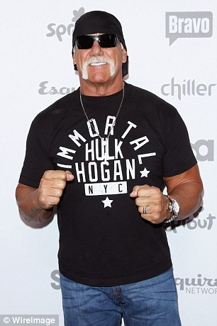 Hogan attends an entertainment event in New York on May 14 this year