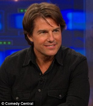 The actor was on the late night show to promote Mission: Impossible - Rogue Nation, which opens Friday
