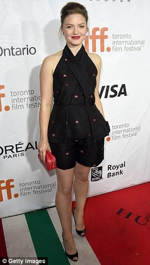 British actress Holliday Grainger