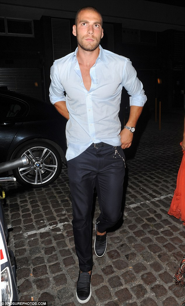 Romance? Nicole's rumoured new beauNicole Pajtim Kasami was seen out at Chiltern Firehouse in London recently with the singer's friends