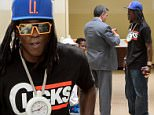 """NASSAU, NY - JULY 28:  William """"Flava Flav"""" Drayton appears at Nassau County Court on July 28, 2015 in Nassau, New York.  (Photo by Steven A Henry/Getty Images)"""