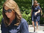 EXCLUSIVE. Coleman-Rayner. Woodland Hills, CA, USA. \nJuly 27, 2015\nCaitlyn Jenner is seen holding hands with a man for the first time as she is assisted while walking in high heels on her way to a lunch date at Villa restaurant in Woodland Hills, California. \nCREDIT LINE MUST READ: Coleman-Rayner\nTel US (001) 323 545 7584 - Mobile\nTel US (001) 310 474 4343 - Office\nwww.coleman-rayner.com