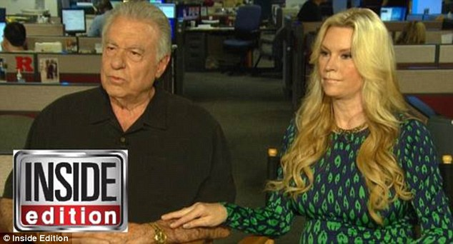 Opening up:Jackie Siegel, whose family was the subject of the 2012 documentary Queen of Versailles, is breaking her silence about her daughter's death alongside her husband David (above on Inside Edition)