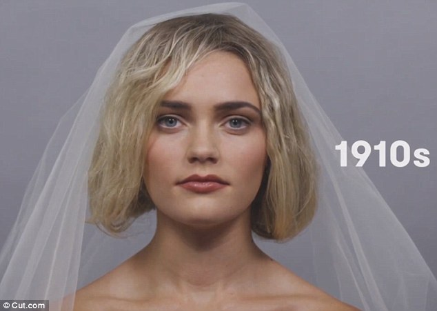 This decade was low-key and women usually had undone hair with just a touch of darker lipstick