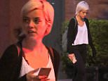 New York, NY - After wrapping up at a Studio, Lily Allen and a male friend walked the streets of Manhattan searching for good food. The British singer took a few selfies as she walked alongside a buddy. AKM-GSI       July  29, 2015 To License These Photos, Please Contact : Steve Ginsburg (310) 505-8447 (323) 423-9397 steve@akmgsi.com sales@akmgsi.com or Maria Buda (917) 242-1505 mbuda@akmgsi.com ginsburgspalyinc@gmail.com