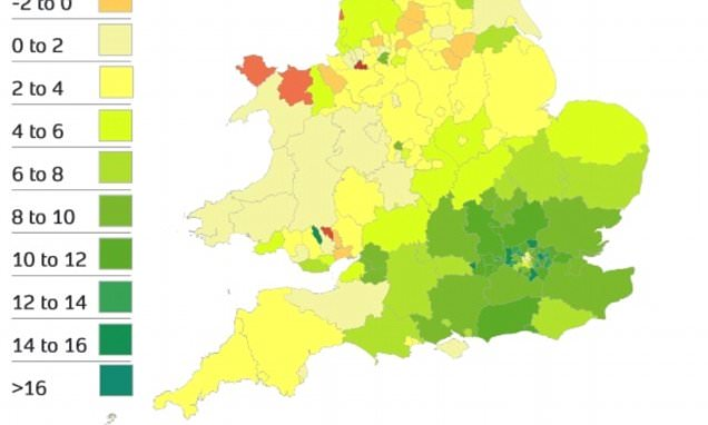 House prices up £9k in a year, says Land Registry