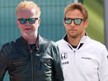 05.07.2015. Silverstone, Northants, England.Formula 1 British Grand Prix. Jenson Button, McLaren Honda arrives at the circuit arrives for the race.