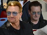 Mandatory Credit: Photo by ddp USA/REX Shutterstock (4916452m)  Yoko Ono and Bono attend the unveiling of the John Lennon Amnesty International tapestry at a ceremony near the American Immigrant Wall of Honor at the Ellis Island Nation Museum of Immigration in New York  John Lennon and Amnesty International tapestry unveiled by Bono and Yoko Ono, New York, America - 29 Jul 2015  The tapestry was unveiled on the 40th Anniversary of John Lennon receiving his Green Card. The 24' by 10' tapestry was commissioned by Art for Amnesty founder Bill Shipsey as a token of appreciation to Yoko Ono for giving Amnesty International the rights to record over versions of John Lennon's post-Beatles songs and helping to raise more the $5 Million dollars