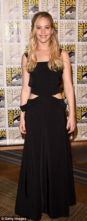 Destined to be pals: Amy was over the moon when Jennifer mentioned her in an interview during Comic-Con two weeks ago