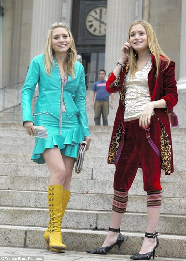 Future fashion mavens: It will be difficult luring Ashley out of retirement as her last major acting role was opposite her sibling in the critically-panned 2004 comedy New York Minute