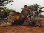 TIM STEWART NEWS LIMITED: Big game hunter Dr Walter Palmer, a dentist from Minneapolis, Minnesota, who has killed dozens of animals and has admitted shooting and killing Cecil the Lion in Zimbabwe.......***Pix supplied as a technical service by Tim Stewart News Limited. No copyright inferred or implied***