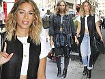 29.JULY.2015 - NEW YORK - USA\nSINGER LEONA LEWIS LEAVING HER NEW YORK HOTEL.  LEONA WAS SHOW HER MIDRIFF BY WEARING A WHITE CROPPED TOP, RIPPED JEANS, BLACK BOOTS AND A BLACK HANDBAG\nBYLINE MUST READ : XPOSUREPHOTOS.COM\n*AVAILABLE FOR UK SALE ONLY*\n***UK CLIENTS - PICTURES CONTAINING CHILDREN PLEASE PIXELATE FACE PRIOR TO PUBLICATION ***\n*UK CLIENTS MUST CALL PRIOR TO TV OR ONLINE USAGE PLEASE TELEPHONE 0208 344 2007*