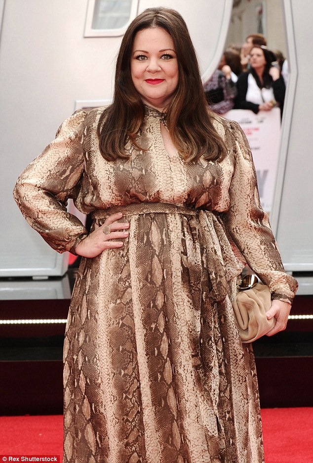Taking matters into her own hands: Though her line is not exclusively plus-sized, Melissa has previously lamented the amount of choice in fashion for plus-sized women