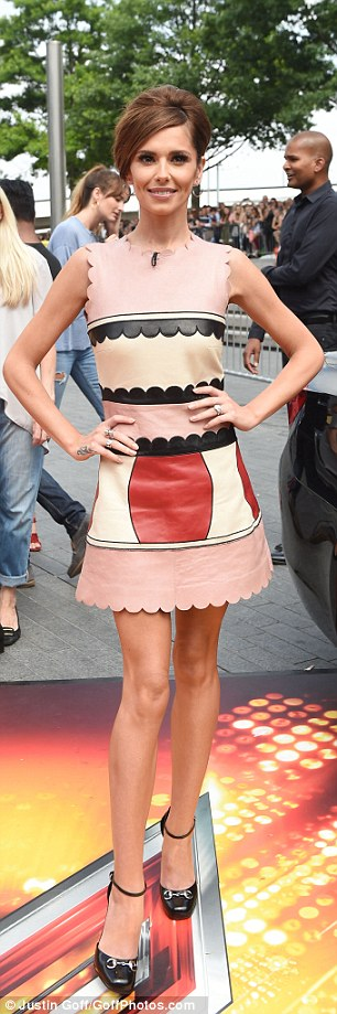 Style queen: Cheryl is the victorious panel style queen