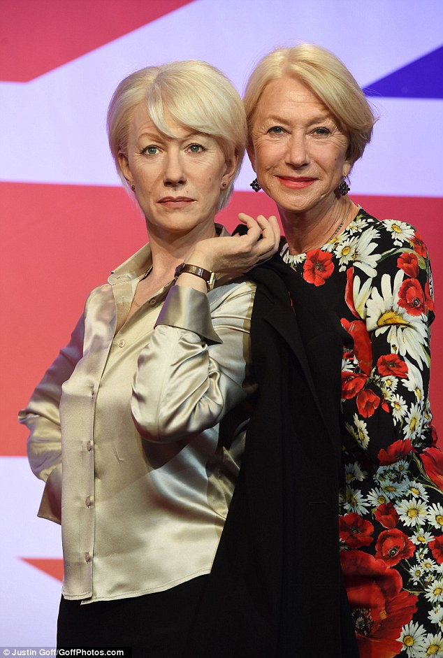 Dedication:'We wanted to do something special to celebrate her birthday on 26 July so we decided to give visitors the chance to meet her in three of her most famous guises,' saidEdward Fuller, General Manager at Madame Tussauds London