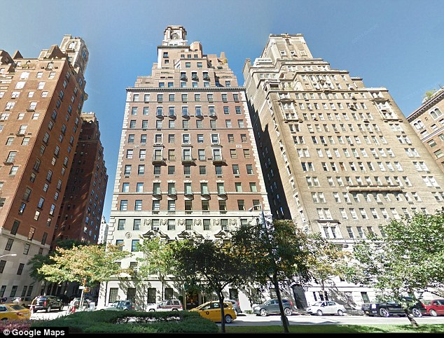 Digs: Astor spent much of her life at her14-room apartment at 778 Park Avenue which sold for $21 million in 2011