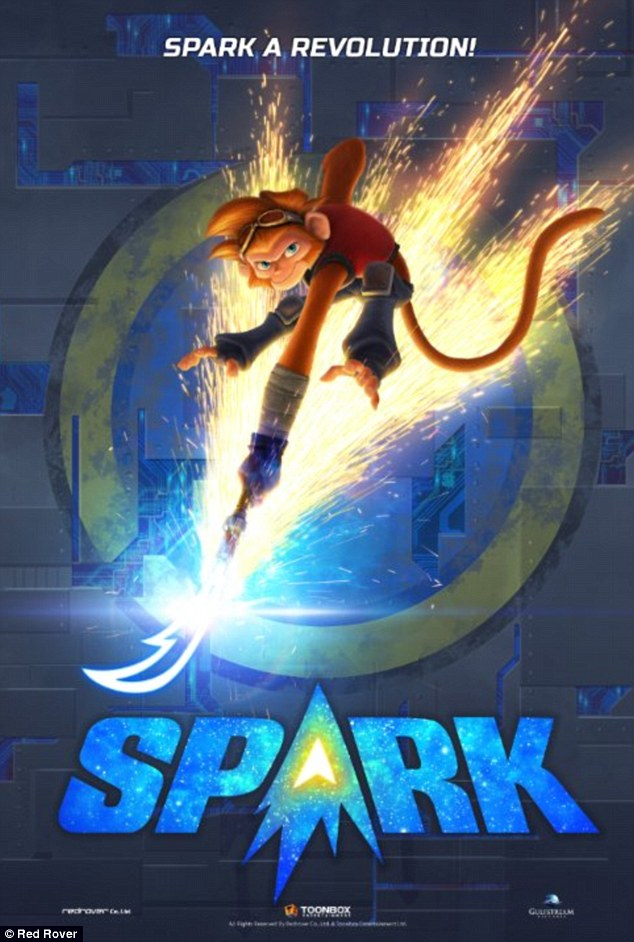 'Spark a revolution!' Hilary will also voice the Queen of Planet Bana in the 2016 CG flick Spark alongside Susan Sarandon, Jessica Biel, and Patrick Stewart