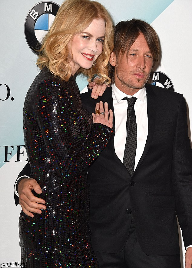 Match made in heaven: In ther interview the successful actress  talked openly about the joys in her life including her relationship with Keith Urban, her husband of nearly a decade