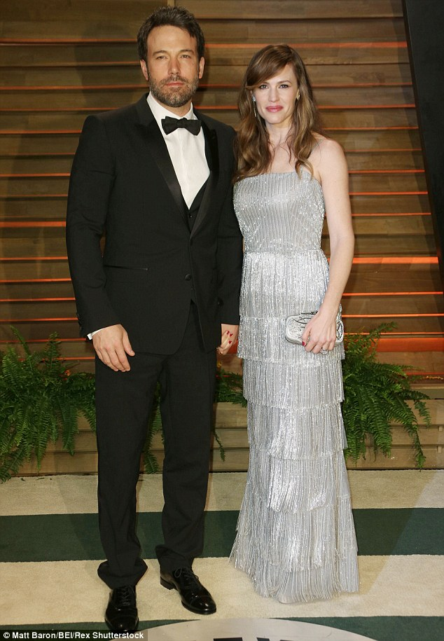 Divorcing: The Hollywood power couple announced their separation on June 30, a day after their 10th wedding anniversary. They are seen here in March 2014 at the Vanity Fair Oscars party