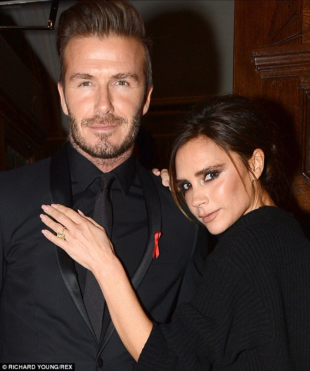 Victoria Beckham bought husband David Beckham a neon heart from artist Tracey Emin, last year
