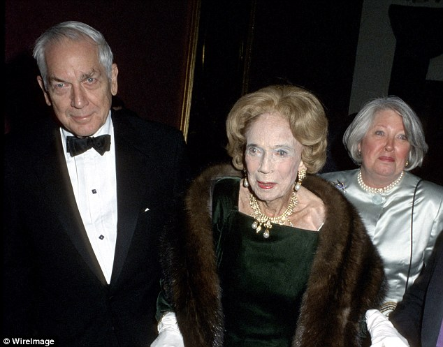 Bad blood:Astor despised Charlene, who she called 'that bitch' and who one of Astor's nurses referred to as 'Miss Piggy' (Anthony, Astor and Charlene in 2002)