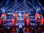 WARNING: Embargoed for publication until: 03/01/2015 - Programme Name: The Voice - TX: 10/01/2015 - Episode: THE VOICE (No. n/a) - Picture Shows: ** EMBARGO **  Embargoed for publication until: SATURDAY 3 JANUARY 2015  L-R Ricky Wilson, Sir Tom Jones, Rita Ora, Will.i.am - (C) WALL TO WALL - Photographer: GUY LEVY